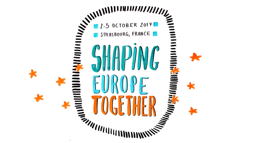 shaping europe together youth work