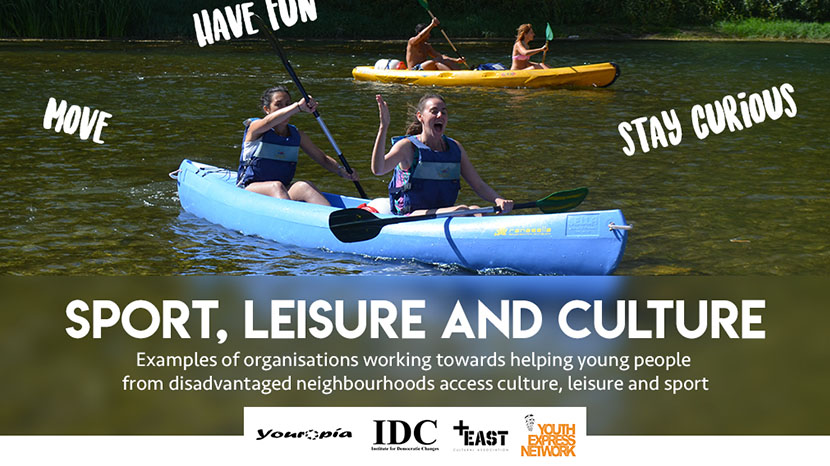 youth work sport leisure and culture