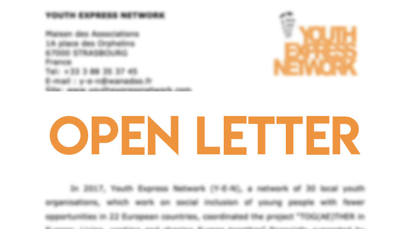 open letter to MEPs