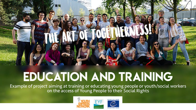 education and training youth work