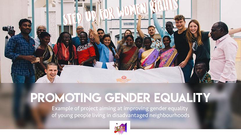 promote gender equality