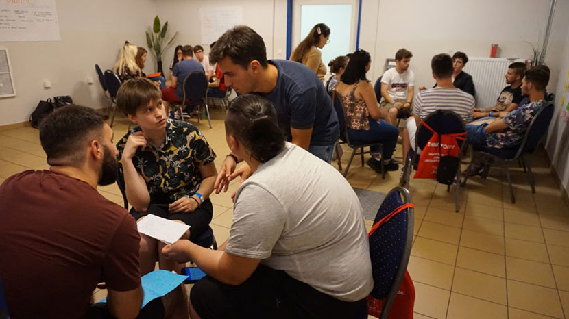 youth participation - simulation workshop