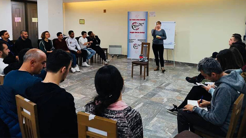 Training course on youth work and humain rights in Europe